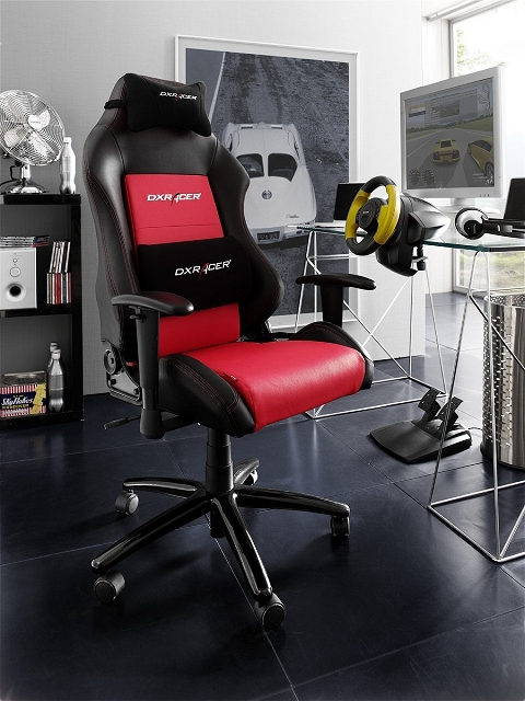 dx racer 4 gaming stuhl 216. Black Bedroom Furniture Sets. Home Design Ideas