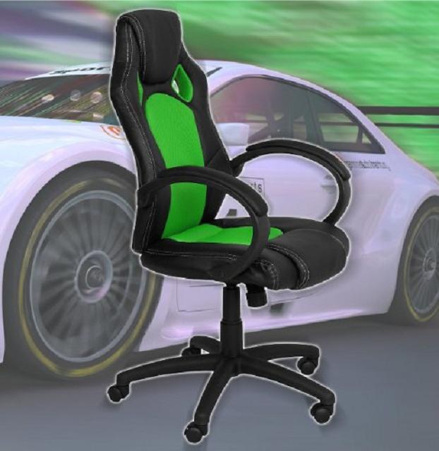 terena premium sportsitz racer ii gaming stuhl 2016. Black Bedroom Furniture Sets. Home Design Ideas