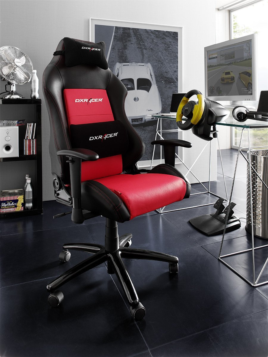 dx racer 4 gaming stuhl 216. Black Bedroom Furniture Sets. Home Design Ideas